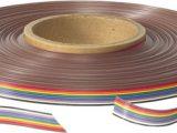 Cables de cinta multicolor con ráster 1.27mm cuerda Cu 28AWG