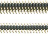 Regletas pin rectas en ráster 2 mm