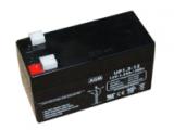 Batería plomo AGM  12V 1.3Ah Dimensiones : 97x43x52