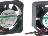Ventiladores de corriente continua 25 x 25 mm