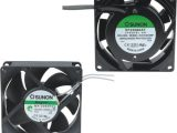 Ventiladores de corriente alterna 80 x 80 mm
