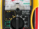 Medidor analógico de bolsillo  V DC:10/50/250/500V V AC:50/250/500V