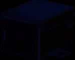 USB tipo B SMT horizontal USB 2.0