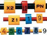 Kit de marcadores para cables  3÷6,5mm; H: 8mm; A: 8mm; L: 5mm antidad de piezas en un kit 600